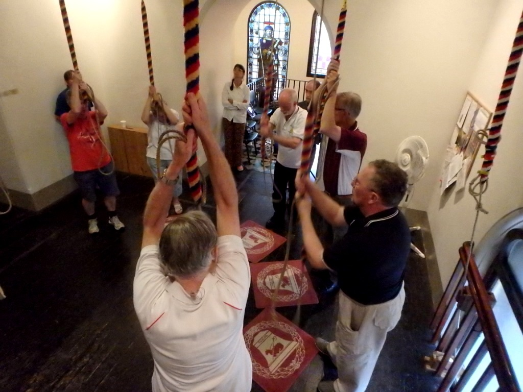 Bellringing in action